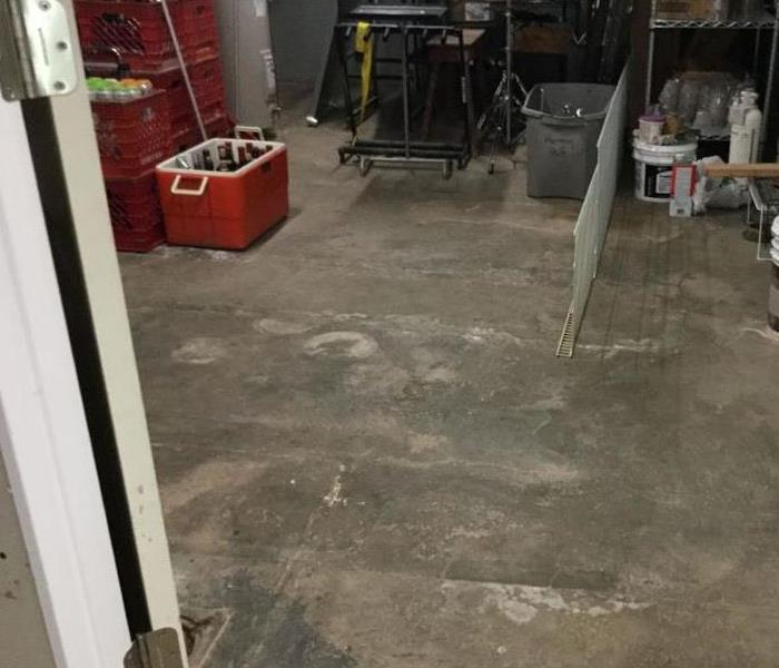 Water Damage After Photo
