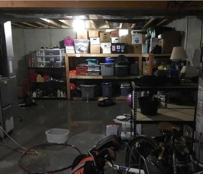 Flooded basement picture