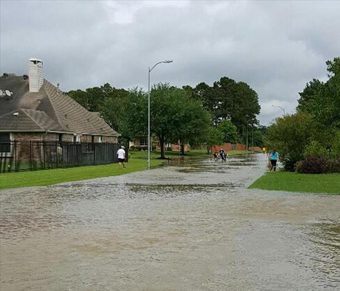 Picture of a Flooded Street
