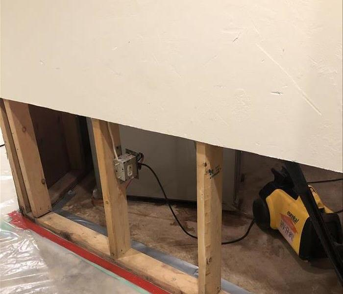 Picture of Flood Cut Drywall